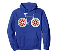 Fixie Single Speed Watermelon Bicycle T Shirt Gift Hoodie Royal Blue