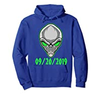 Storm Area 51 See Them Aliens Raid Ufo Cant Stop Us All Shirts Hoodie Royal Blue
