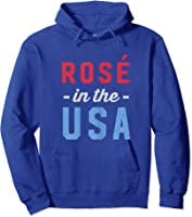 Rose In The Usa Cute 4th Of July T-shirt Hoodie Royal Blue