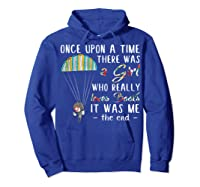 Once Upon A Time There Was A Girl Who Really Loves Books Ts Shirts Hoodie Royal Blue