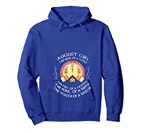 August Girl The Soul Of A Gypsy T Shirt August Girl Birthday T Shirt Hoodie Royal Blue
