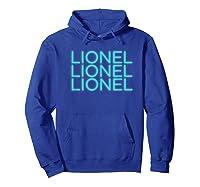Lionel Richie - Lionel Neon T-shirt Hoodie Royal Blue