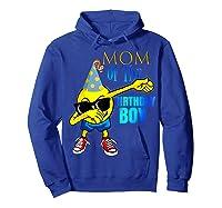 Cool Dancing Dabbing Emoji Mom Of Birthday Boy Party Shirts Hoodie Royal Blue