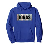 Jonas First Given Name Pride Funny Cool Tank Top Shirts Hoodie Royal Blue