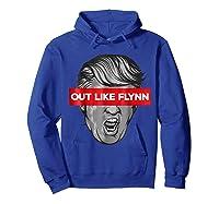 In Like Flynn Out Like Flynn Impeach Trump T Shirt Hoodie Royal Blue