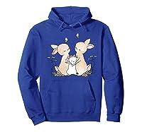 Family Rabbit Baby Bunny Sweet Family Shirt T Shirt Hoodie Royal Blue