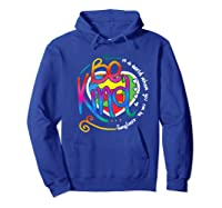 In A World Where You Can Be Anything Be Kind Autism Premium T-shirt Hoodie Royal Blue
