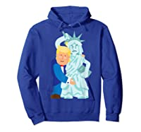 Grab Liberty Naughty Anti Trump Impeach Trump F Trump Gift T Shirt Hoodie Royal Blue