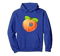 Impeach Trump Peach With Trump Button Anti Trump T Shirt Hoodie Royal Blue