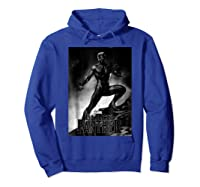Black Panther Movie Shadow Cliff Stance Shirts Hoodie Royal Blue