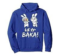 Anime Japanese Baka Rabbit Slap Manga T Shirt Gift Funny T Shirt Hoodie Royal Blue