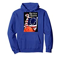 Vintage Independence Day B Boss Ross 4th Of July Baseball Shirts Hoodie Royal Blue