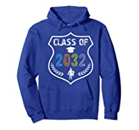 2019 Class Of 2032 Grow With Graduation First Day Of School Shirts Hoodie Royal Blue