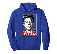 American Vandal Free Dylan Political Poster Premium T-shirt Hoodie Royal Blue