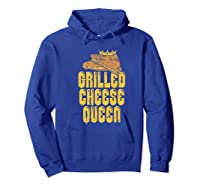 Gift For The Queen Grilled Cheese Maker Of The House Premium T Shirt Hoodie Royal Blue