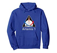 Artemis 1 Patch We Are Going Moon To Mars 2024 Vintage Shirts Hoodie Royal Blue