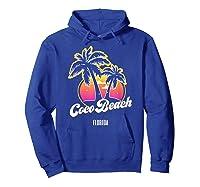 Coco Beach Florida City Native S Gift Shirts Hoodie Royal Blue