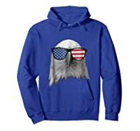 Election Day 2018 Patriotic Eagle T Shirt Hoodie Royal Blue