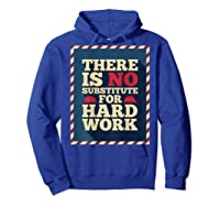 Happy Labor Day Hard Worker Cool Employee Gift Back Print T-shirt Hoodie Royal Blue
