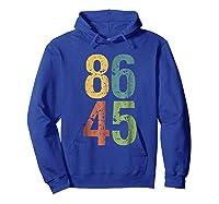 8645 T Shirt Impeach Trump Hoodie Royal Blue