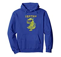 Reptar Eating Cereal With Text Reptar Cereal Shirts Hoodie Royal Blue