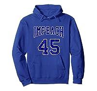 Impeach 45 T Shirt Blue Edition Hoodie Royal Blue