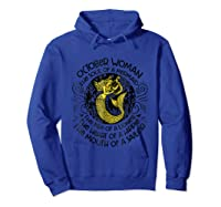 October Woman The Soul Of A Mermaid T Shirt Gift For  Hoodie Royal Blue