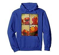 Sesame Street Photo Booth Elmo Shirts Hoodie Royal Blue