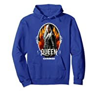 The Walking Dead Queen Carol T-shirt Hoodie Royal Blue