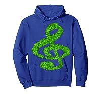 Music Note Shamrock Funny St Saint Patrick S Day T Shirt Hoodie Royal Blue