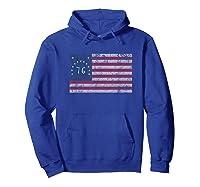 American Bennington Flag United States Of America 1776 Shirt Hoodie Royal Blue
