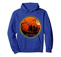 Friends Horror Scary Halloween T Shirt For  Hoodie Royal Blue