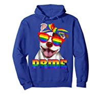 Pit Bull Pride- Gay Pride Shirt 2018 T-shirt For  Hoodie Royal Blue