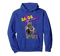 Wwe Nerds - Razor Ramon T-shirt Hoodie Royal Blue