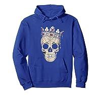 Skull King Crown Jewels Shirts Hoodie Royal Blue