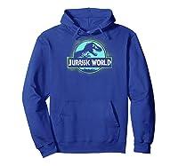 Jurassic World 2 Grafi Spray Classic Logo Baseball Shirts Hoodie Royal Blue