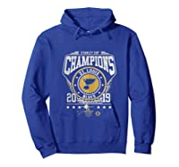Best Gift Stanley St-louis Cup Blues Champions 2019 Tank Top Shirts Hoodie Royal Blue