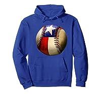 Texas Flag Baseball Game Apparel Gift Great State Of Texas Premium T-shirt Hoodie Royal Blue