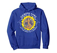 Gemini Girl The Soul Of A Mermaid Tshirt Birthday Gifts Hoodie Royal Blue
