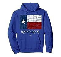 Texas Flag City State Shirts Hoodie Royal Blue