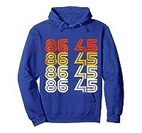 Impeach Trump 8645 Anti Trump Impeach Remove Trump Shirts Hoodie Royal Blue