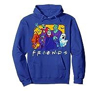 Friends Halloween Horror T Shirt Hoodie Royal Blue