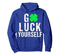 Funny Saint Patrick S Day T Shirt For Adults  Hoodie Royal Blue