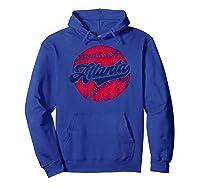 Atlanta Baseball Atl Pride Vintage Brave Retro Gift Shirts Hoodie Royal Blue