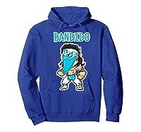 Feel Ink Bandido Bandit Lucha Libre Mexican Pro Wrestler Premium T Shirt Hoodie Royal Blue