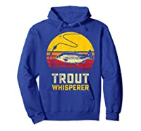 Trout Fishing Brook, Brown, Rainbow Trout Fish Gift Shirts Hoodie Royal Blue