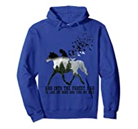 Trending Gift Shirt I Go To Lose My Mind And Find My Soul T Shirt Hoodie Royal Blue