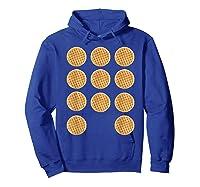 Eleven 11 Waffles T Shirt Tee Hoodie Royal Blue