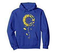 You Are My Sunshine Sunflower Goat For Woman Shirts Hoodie Royal Blue
