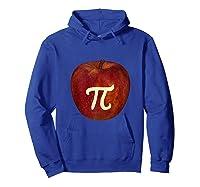 Funny Math Geek Apple Pie Pi Day Tank Top Shirts Hoodie Royal Blue